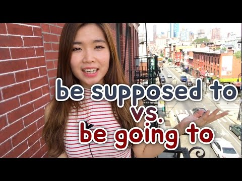 ep86. be supposed to vs be going to 차이점 | 이영시, Start English Now