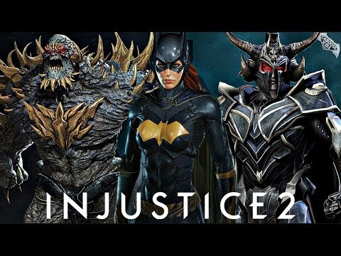 Injustice 2 - Cancelled Fighter Pack DLC! |