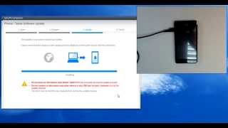 Sony Xperia E1 D2005 hard reset by update software
