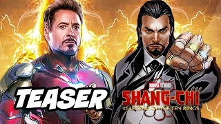 Shang Chi Teaser - Iron Man Scene Easter Eggs Marvel Phase 4 Breakdown