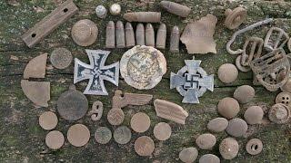 WW2 Relikte Teil 135 : Ostfront 8. + 9. Armee Spurensuche 2015 Teil 3/3 (Wehrmacht, WK2)