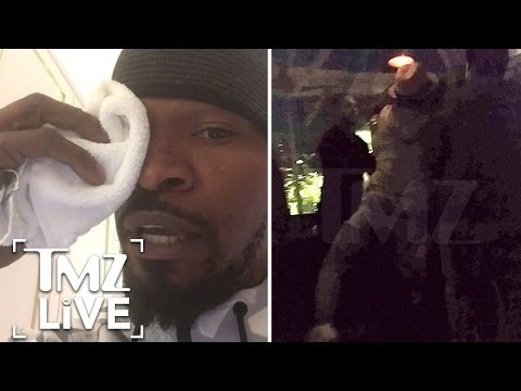 Jamie Foxx Speaks Out After Brawl I TMZ Live