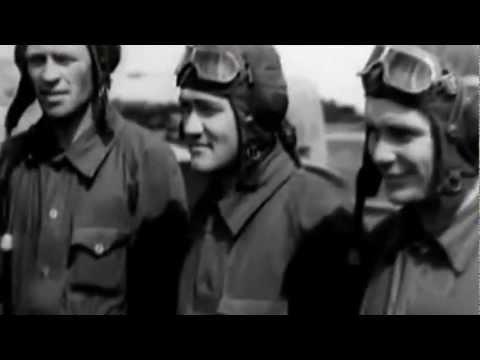 ЖУРАВЛИ .  ( песни военных лет, видеоклип)