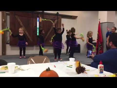 Ella's ballet dance at the Grosse Pointe Nursery School