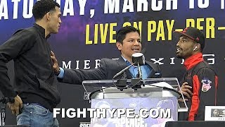 (FIREWORKS!) DAVID BENAVIDEZ AND J'LEON LOVE GO AT IT IN HEATED ALTERCATION; TRADE NASTY INSULTS