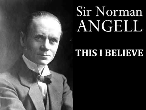 Sir Norman Angell - This I Believe - 1950s Radio Broadcast
