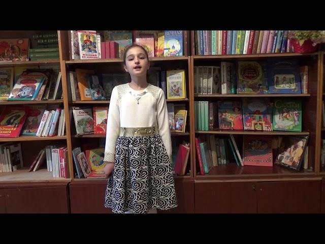 Изображение предпросмотра прочтения – ЭльмираАбдуллабекова читает произведение «Мама, глянь-ка из окошка» А.А.Фета