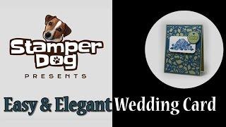 Easy Elegant Wedding Card