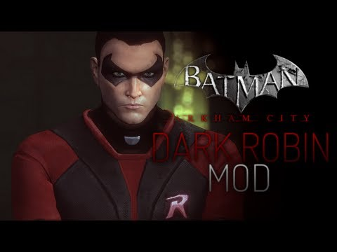 batman arkham city how to change robin skins
