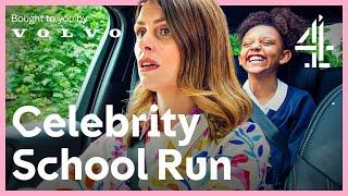 Kids Ask Life's Trickiest Questions!   Celebrity School Run