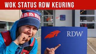 WOK STATUS RDW KEURING | VOL GAS MET JOEY
