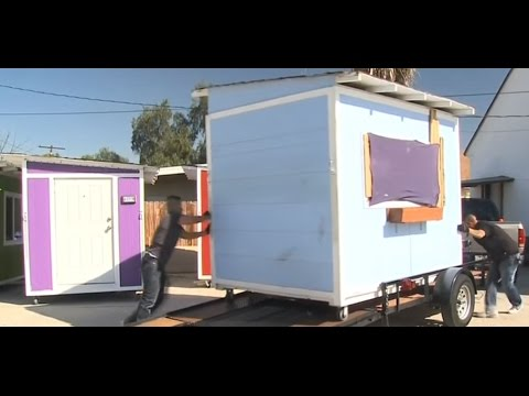Compton takes away charity houses from homeless