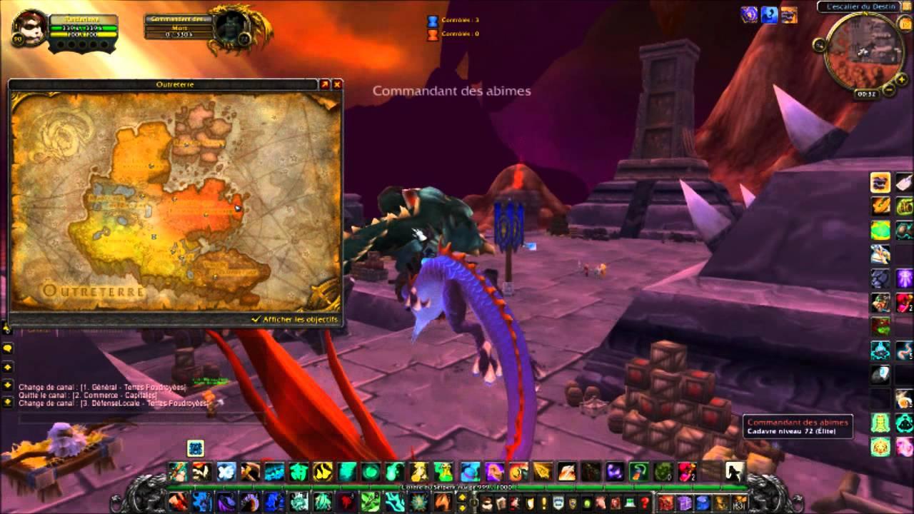 Truc Et Astuce N4 Comment Aller En Outreterre World Of Warcraft