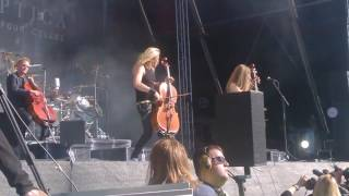 Apocalyptica - Fight Fire With Fire (Metallica cover) @ Tuska 2.7.2017