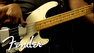 Fender Limited Relic 1955 Precision Bass Demo | Fender