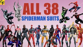 All 38 SPIDER-MAN Suits Explained (Marvel)