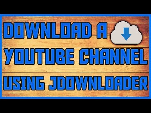 How To Download A YouTube Channel Using JDownloader | How To