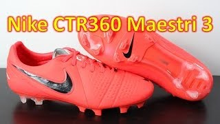 Nike CTR360 Maestri 3 Bright Crimson Black - Unboxing + On Feet 156b0a9581f5