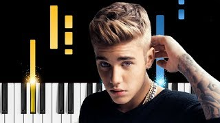 "Poo Bear & Justin Bieber - ""Hard 2 Face Reality"" - Piano Tutorial / Piano Cover"