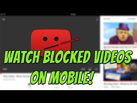 [IOS ONLY] How To Watch Blocked YouTube Videos On Mobile! | Unblock YouTube Videos On Mobile!
