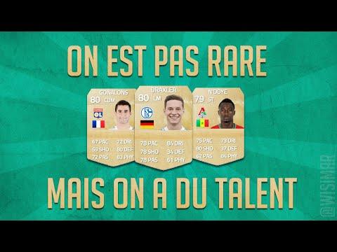 FIFA 15 I On est pas rare mais on a du talent : Une belle team de L1 pas chère !!