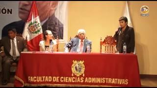 FACULTAD DE CIENCIAS ADMINISTRATIVAS FIRMA CONVENIO DE COOPERACIÓN INSTITUCIONAL