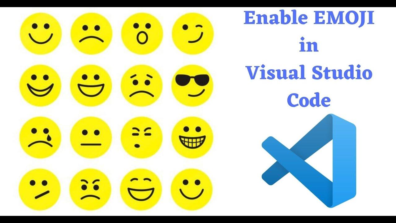 How to Enable Emoji in Visual Studio Code ?