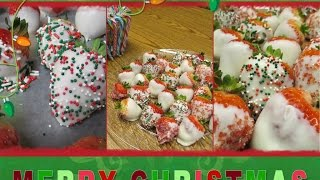 How To Make Chocolate Dipped Strawberries Using Wilton Melting Pot & Candy. Sparkle By Monica