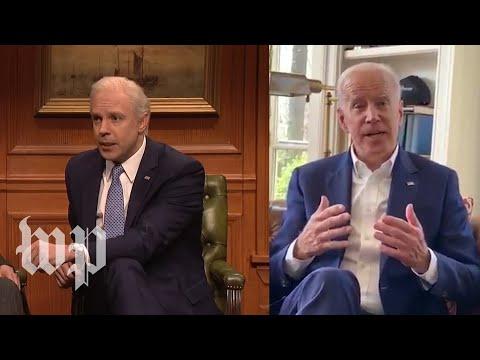 SNL's cold open vs. Biden's real-life remarks
