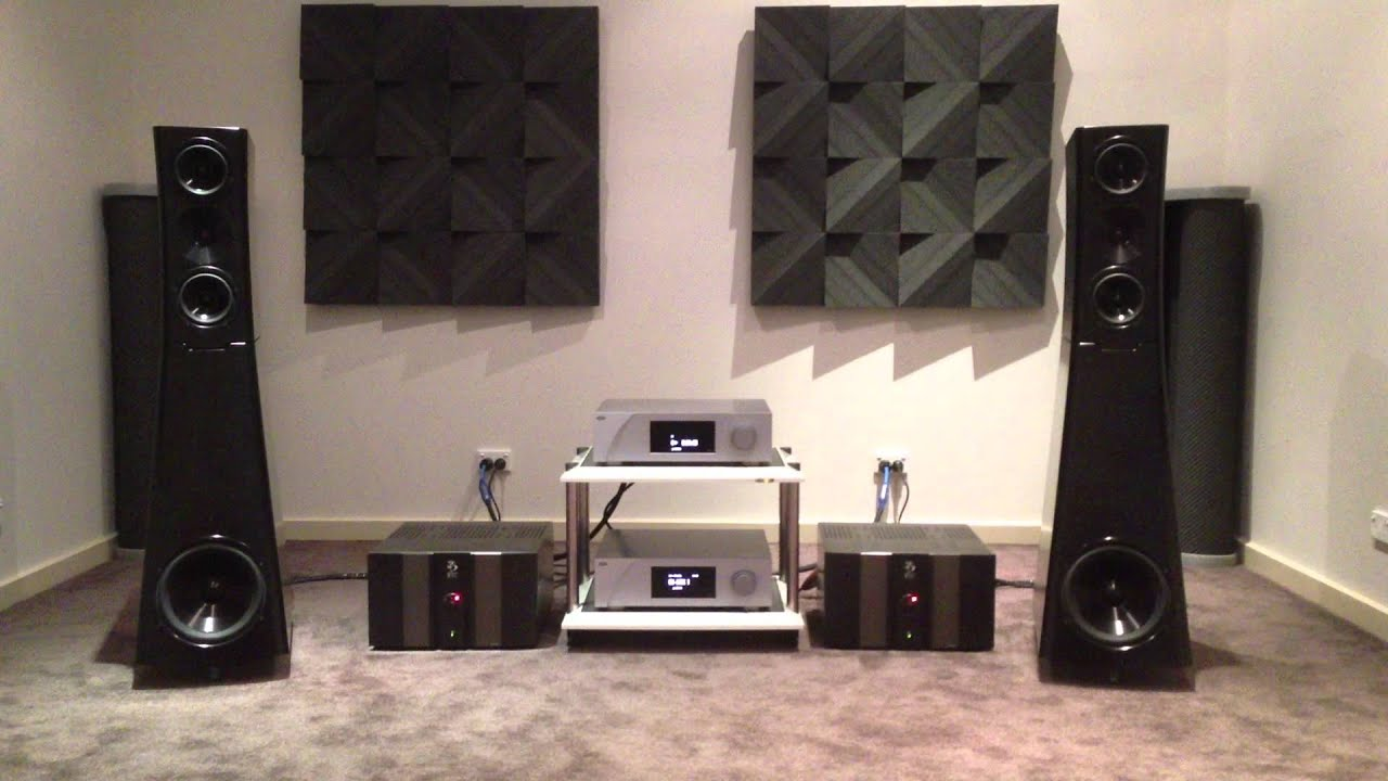 yg acoustics sonja 1 2 ch precision d1 c1 bully sound bsc100m at absolute hi end youtube. Black Bedroom Furniture Sets. Home Design Ideas