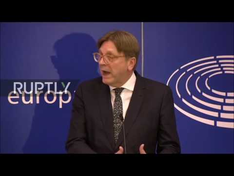 Full EU Press Conference w/ Guy Vehofstadt - Article 50