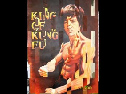 "*Bruce Lee* 40th Anniversary-Acrylic On Canvas 54""x40"" Painting By Alain Law"