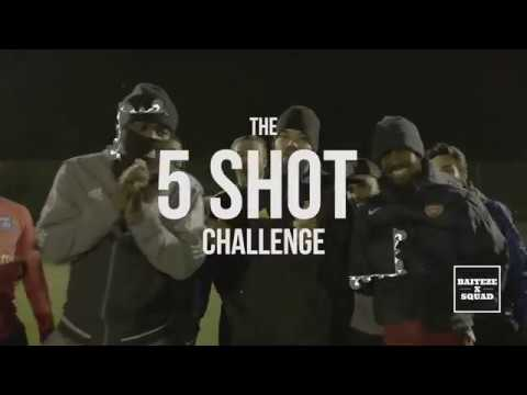 WARNING! KOJO FUNDS TAKES ON THE FIVE SHOT CHALLENGE