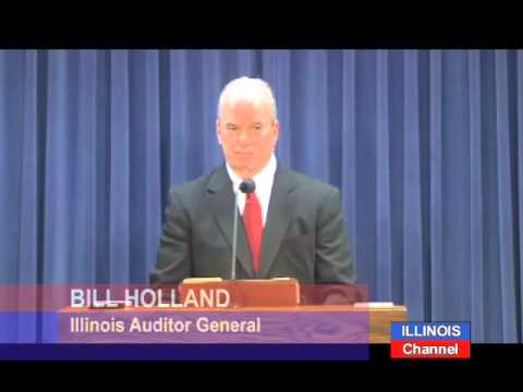 Auditor General Bill Holland Announces Retirement