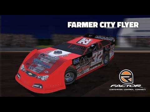 rFactor: Farmer City Flyer (Super Late Model @ Farmer City)