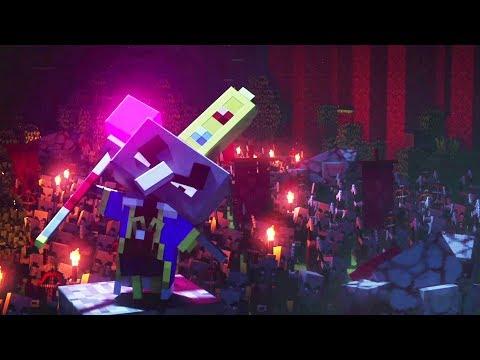 Minecraft Dungeons Game Movie ( All Cutscenes)