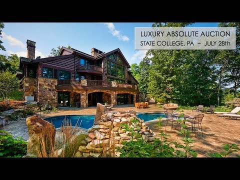 Luxury Home And Land For Sale In State College PA [68 Acres]