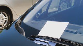 Бедный мужчина случайно поцарапал дорогую машину, тогда он решает оставить записку