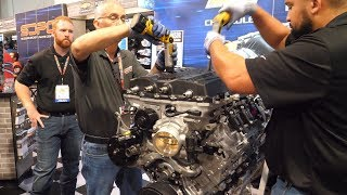 LS9 6.2L V-8 for 2009 Corvette ZR1 Videos