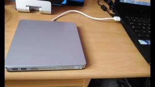Test Graveur Lecteur CD/DVD-RW Externe USB 3.0 Xintop