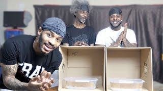 MY MAD UNCLE AND LV!! WHATS IN THE BOX (GONE WRONG!)