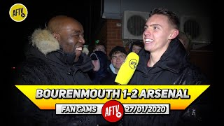 Bournemouth 1-2 Arsenal | Nketiah & Martinelli Have Stepped Up In Aubameyang