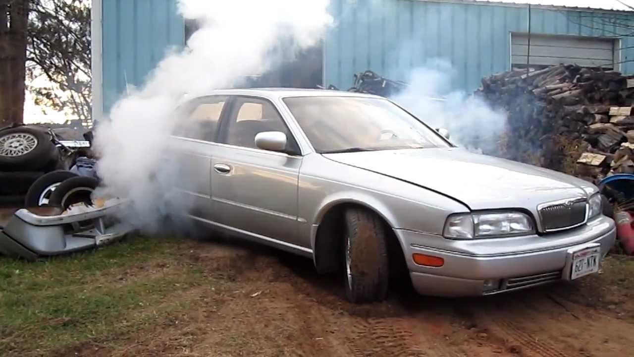 1994 Infiniti Q45 Burnout