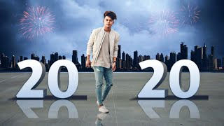 Happy new year 2020 editing picsart editing tutorials picsart editing