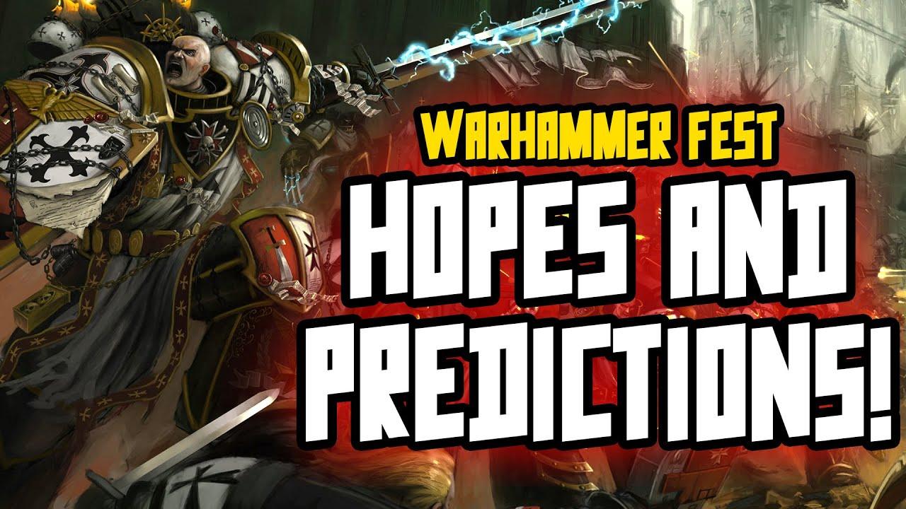 Warhammer Fest 2021 - MY HOPES & PREDICTIONS!