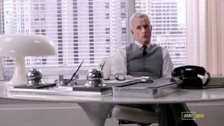 Baixar mad men - roger sterling bribes harry to change his office