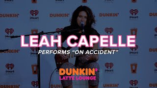 Leah Capelle Performs 'On Accident'   Dunkin Latte Lounge
