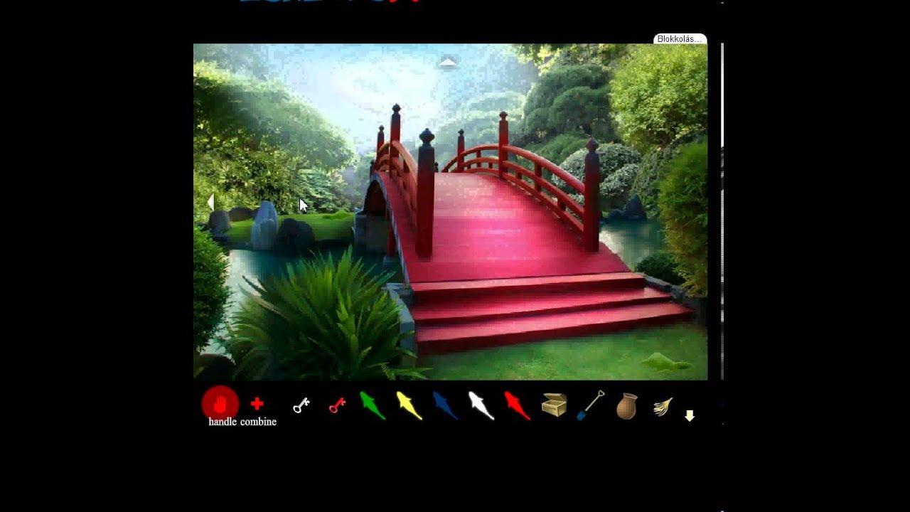 Japanese Garden Escape 3 Walkthrough - YouTube