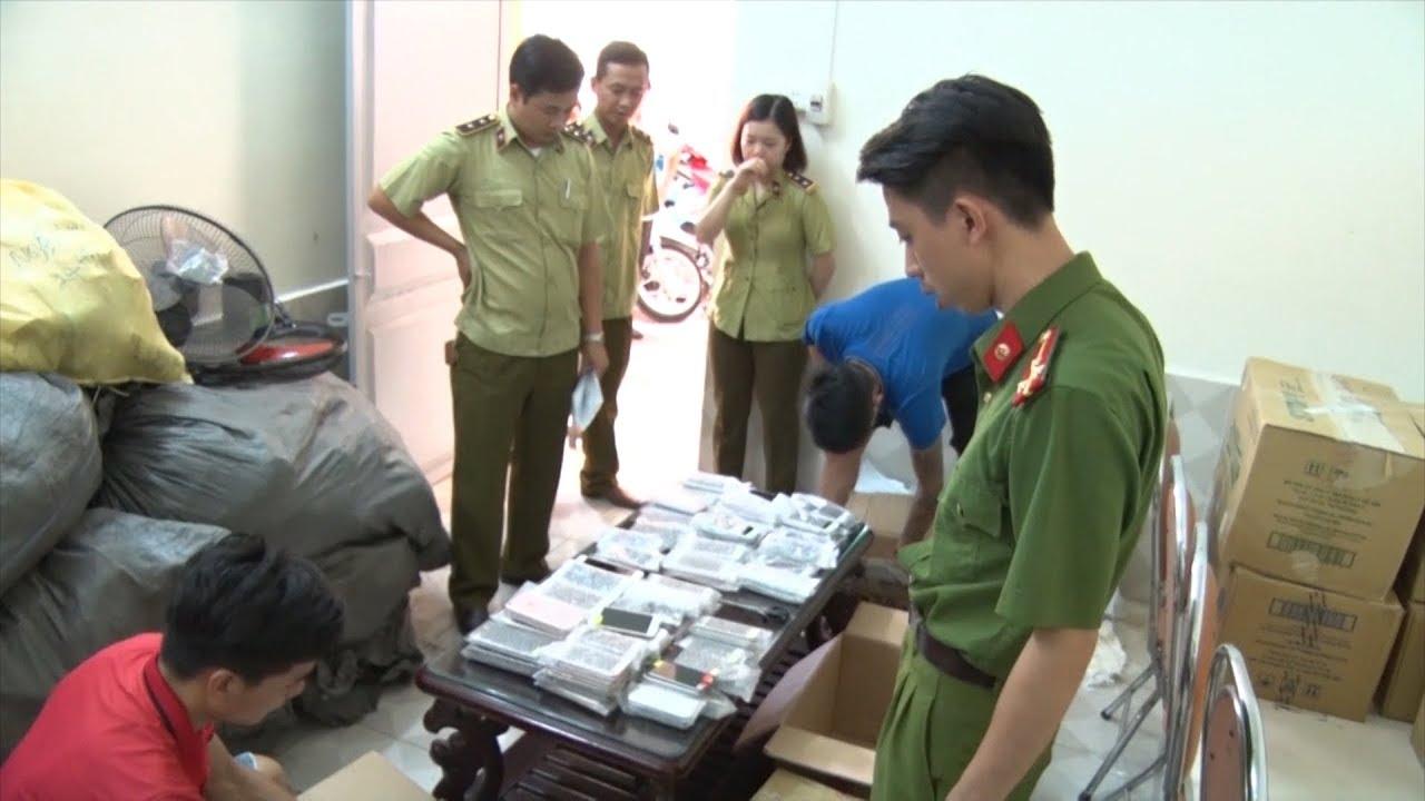 Hải Phòng bắt giữ lô hàng 700 chiếc điện thoại nhập lậu