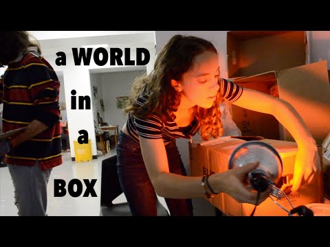 Art College Vlog 30 | A world in a box
